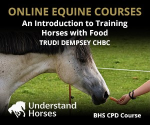 UH - An Introduction To Training Horses With Food (Worcestershire Horse)